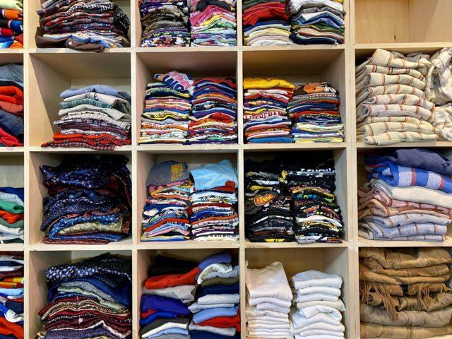 ジャンティーク高崎のTシャツコーナー