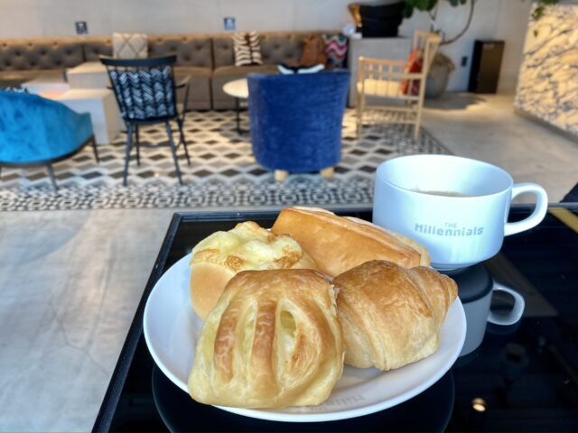 ザ・ミレニアルズ渋谷の朝食