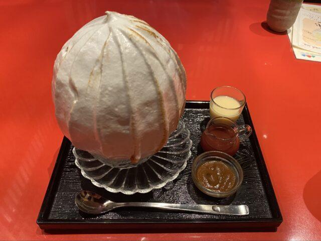 佐藤総本店の焼き氷