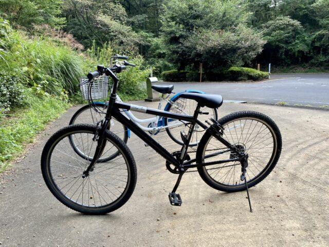 国営武蔵丘陵森林公園でレンタルした自転車